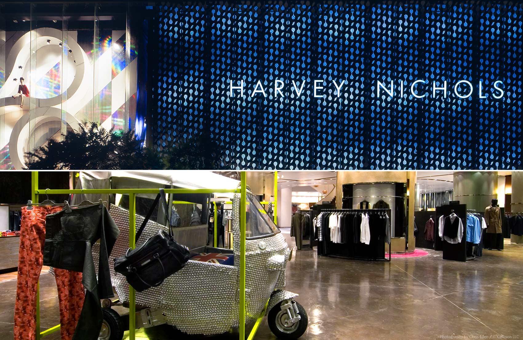 Harvey Nichols - Jakarta - Exterior and Interior details