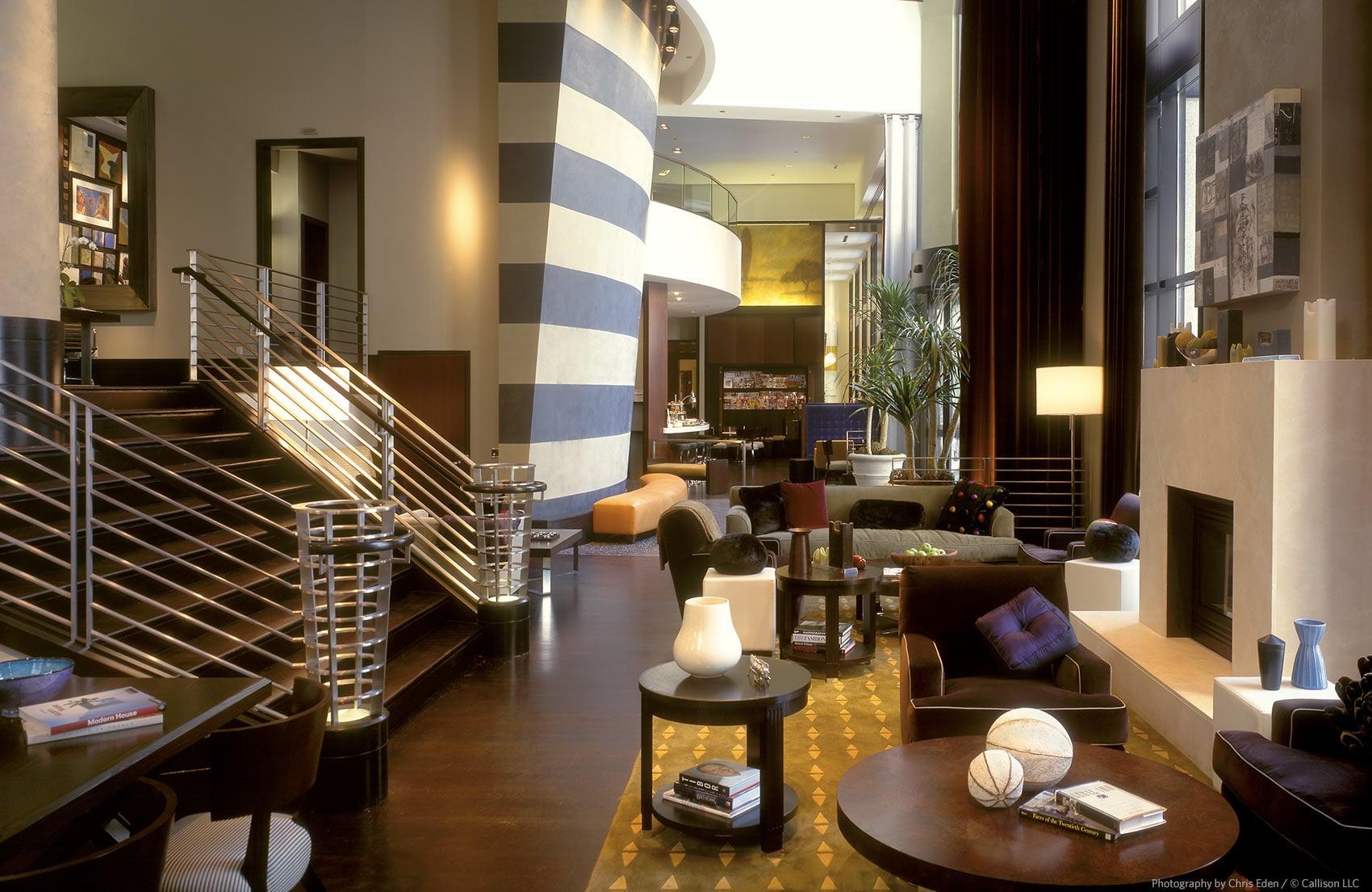 W Hotel, Seattle - Lobby Interior