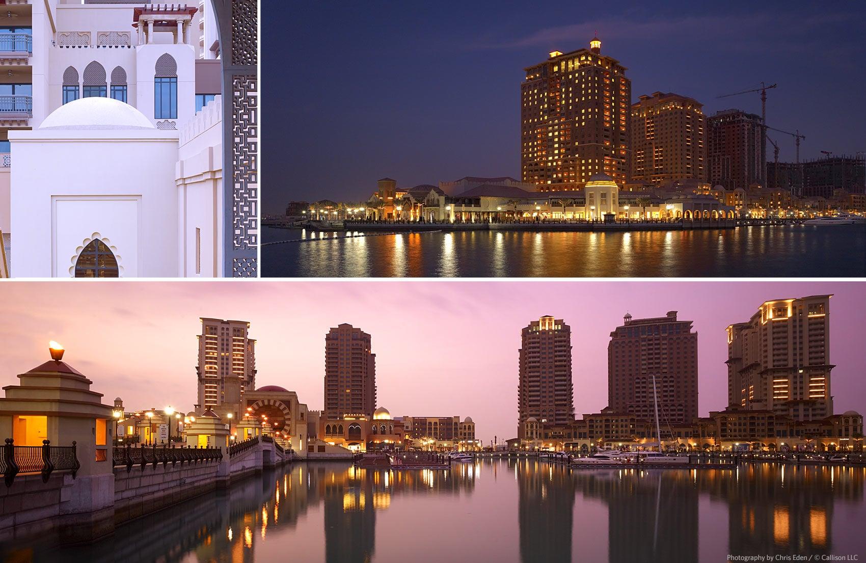 The Pearl-Porto Arabia, Doha, Qatar - Exterior vantage points