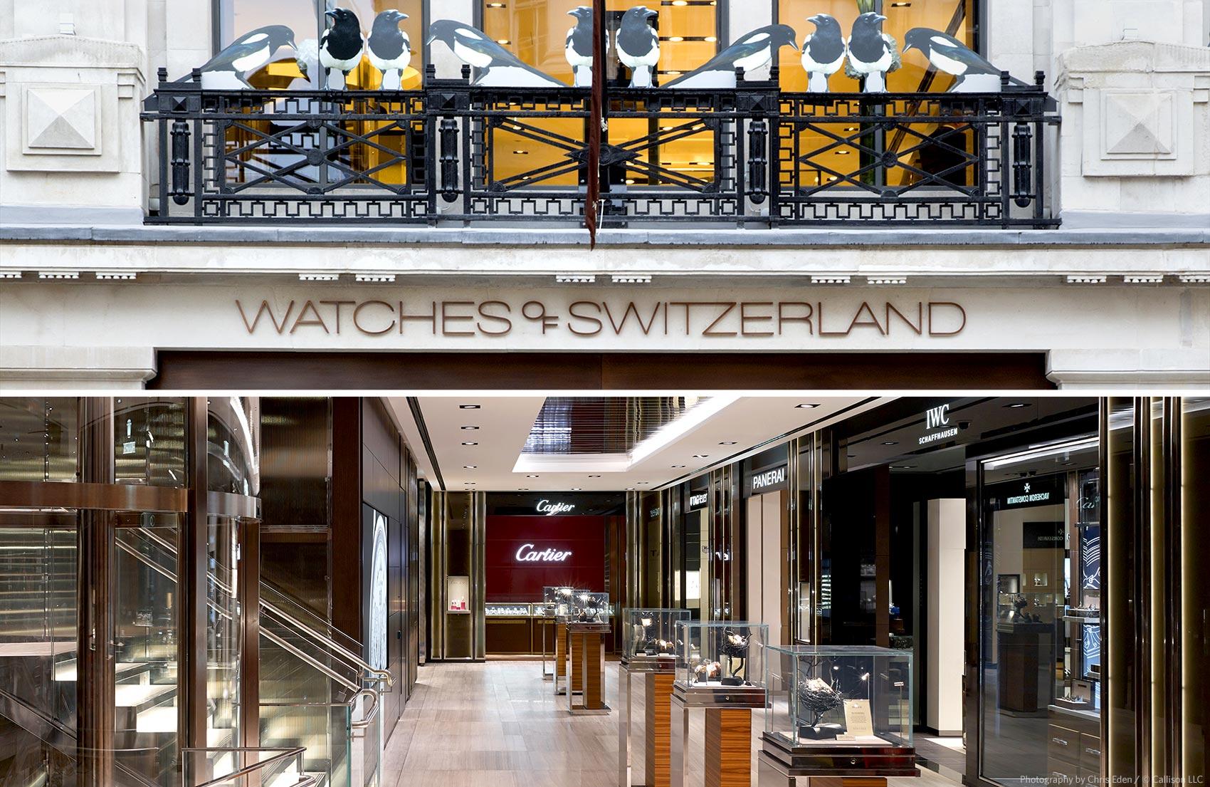 Watches of Switzerland London
