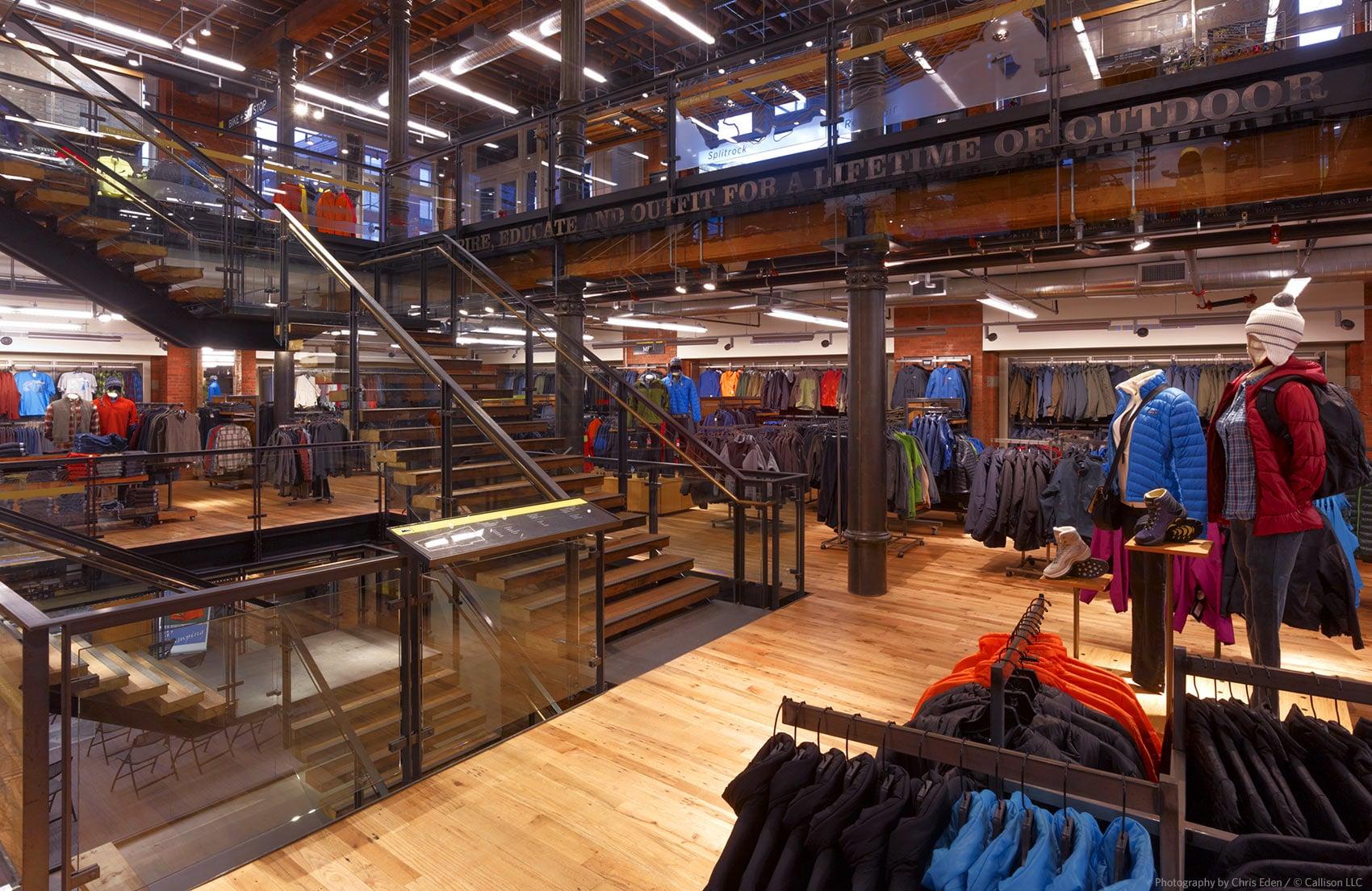 REI, Soho - NYC - Interior overall - Multi-level