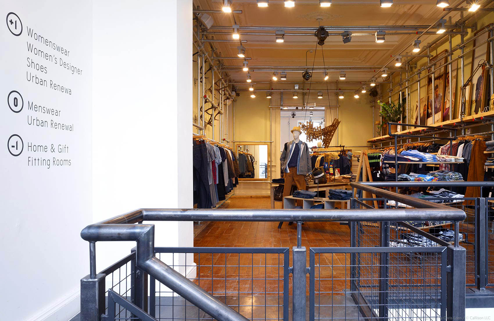 Urban Outfitters, Brussels - Interior