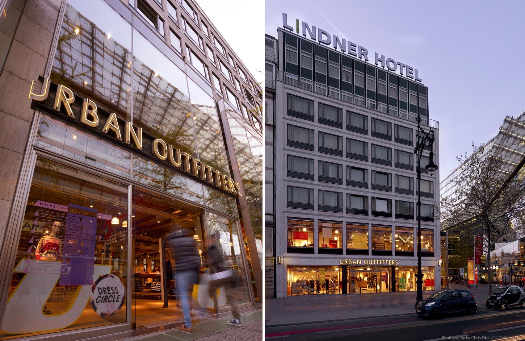 Urban Outfitters, Berlin -Kurfϋrstendamm - Exterior storefront