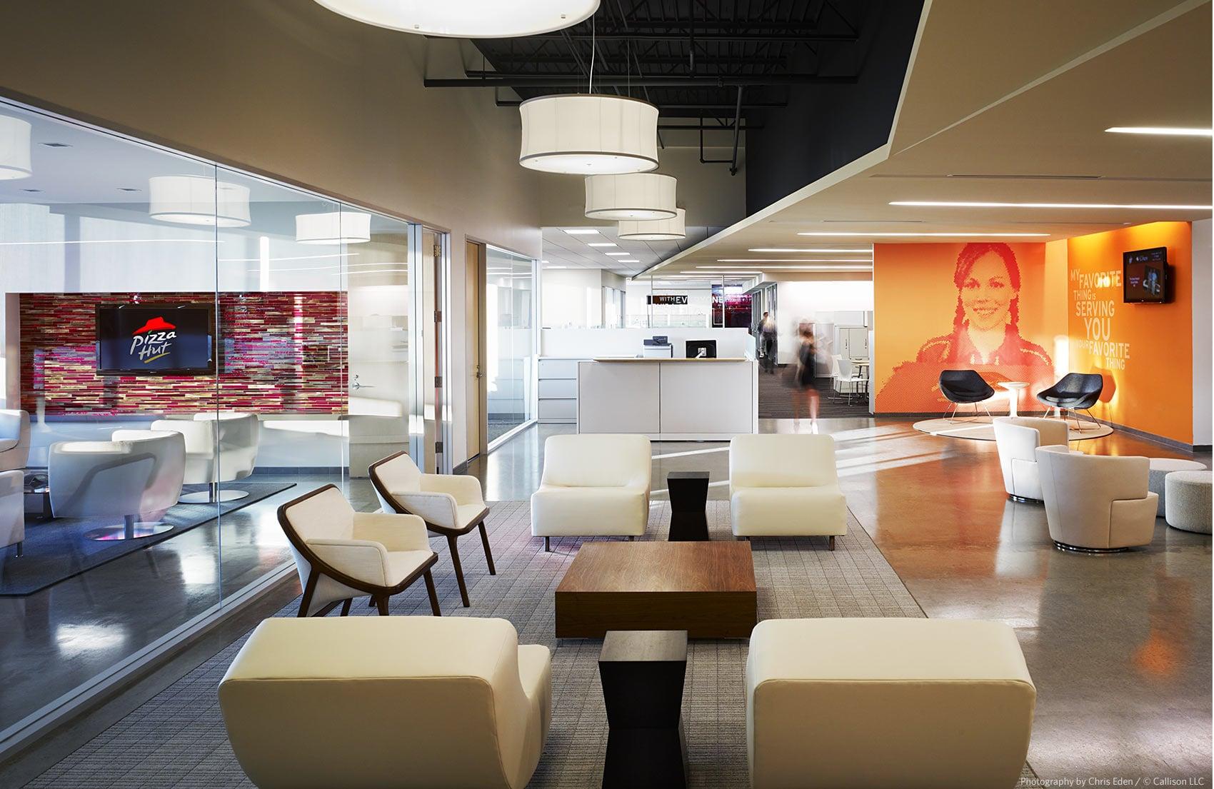 Pizza Hut - Yumi Brands HQ - Office interior