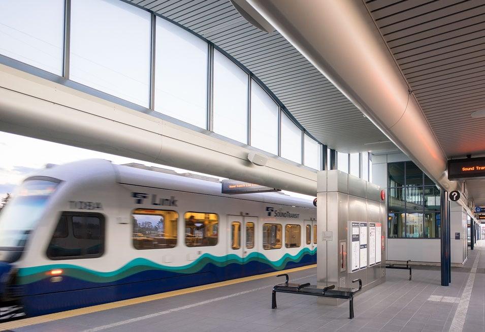 Sound Transit - Angle Lake Light Rail Station