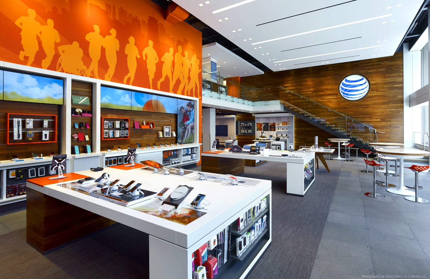 AT&T, Boston, Boylston Avenue Flagship - Interior overall