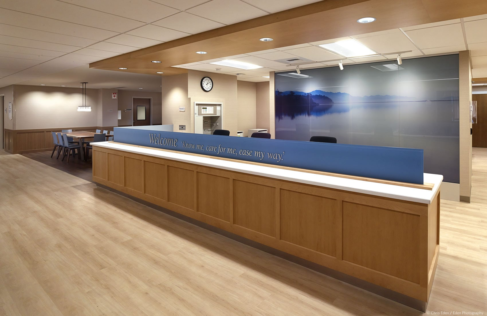 Client: MG2 - Providence Hospice - Reception