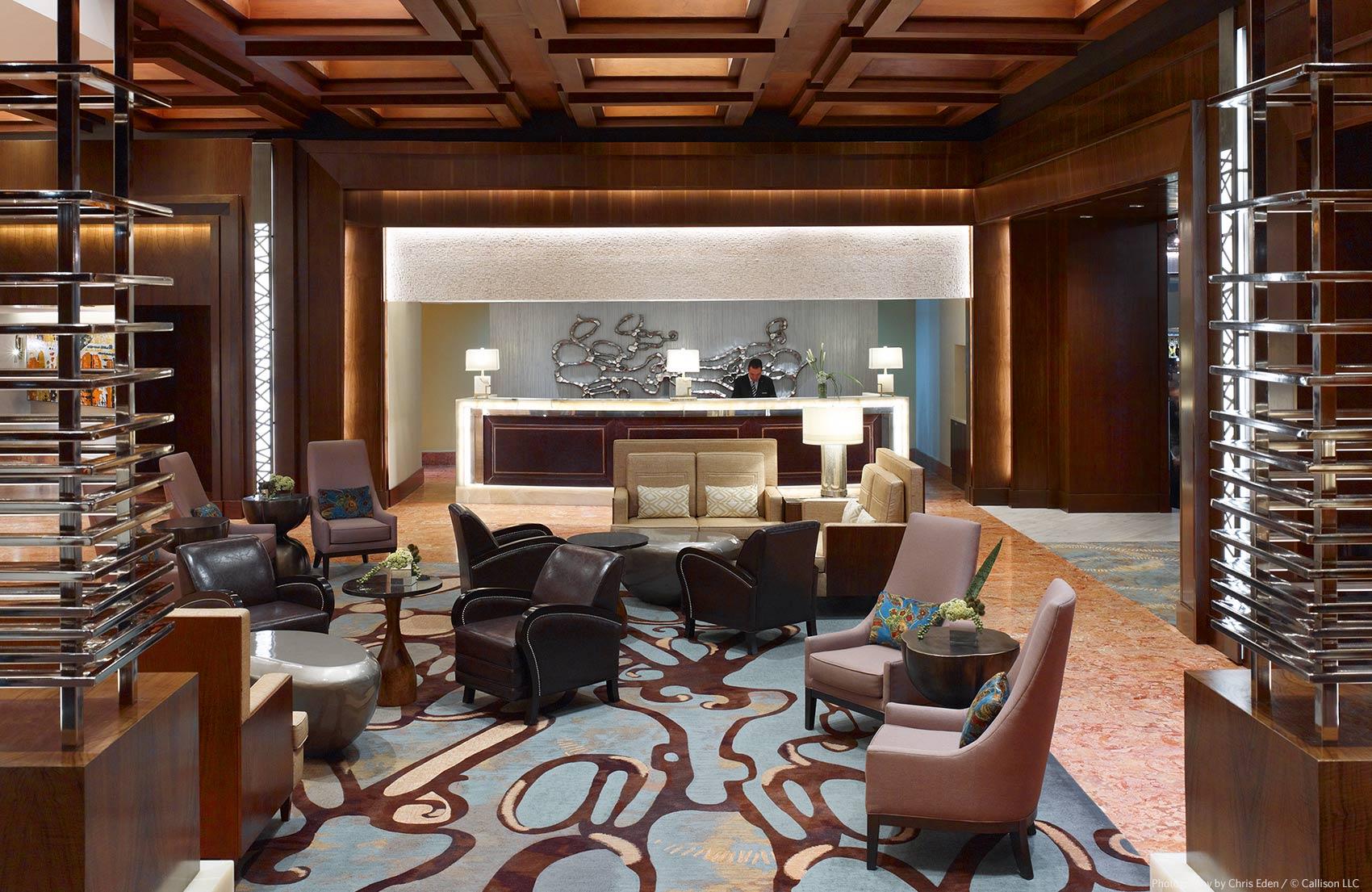 JW Marriott, Mexico City - Lobby interior