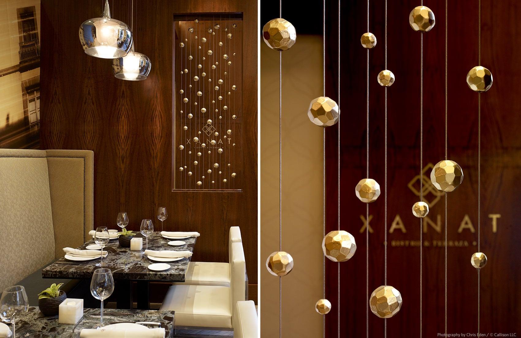 JW Marriott, Mexico City - Hotel restaurant interior - design details