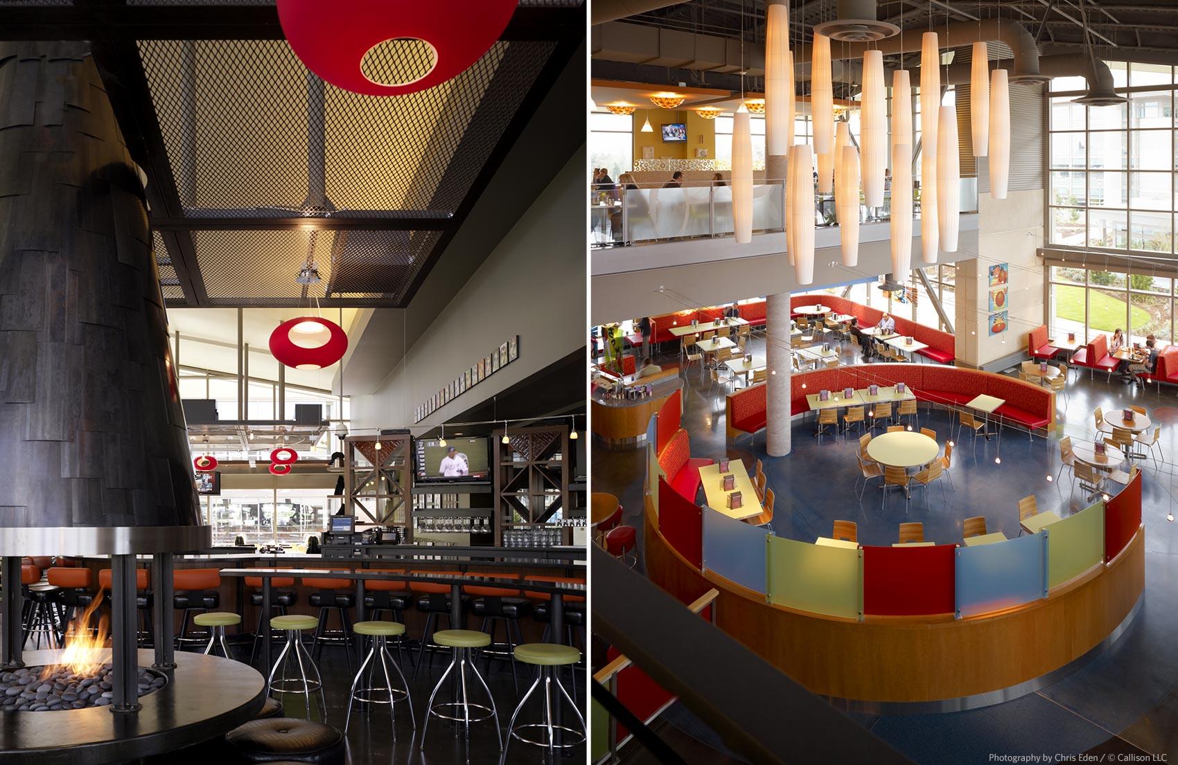Software Company, Redmond, WA - Corporate restaurant spaces