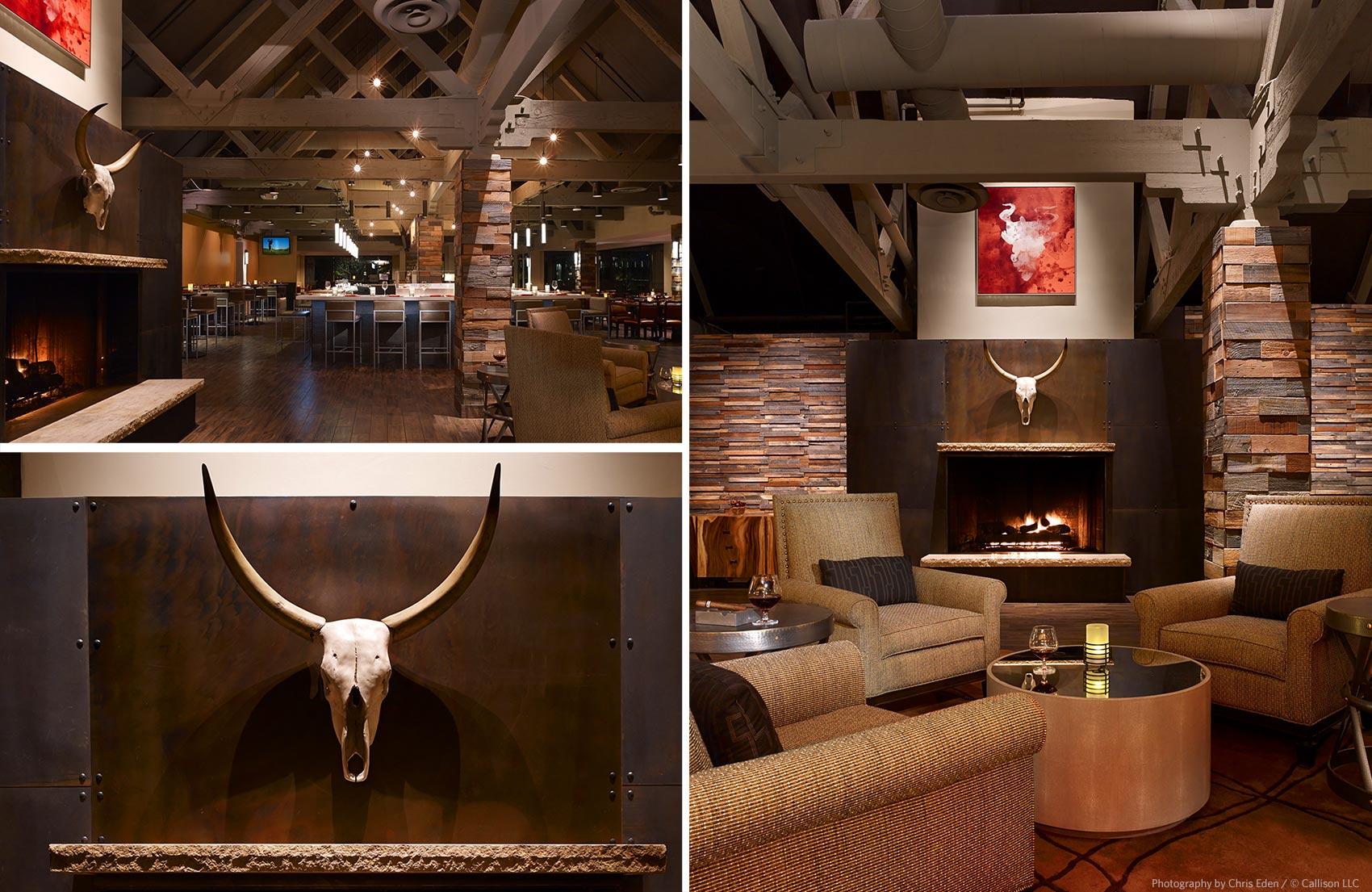 Toro Restaurant, Scottsdale - Restaurant interiors - details