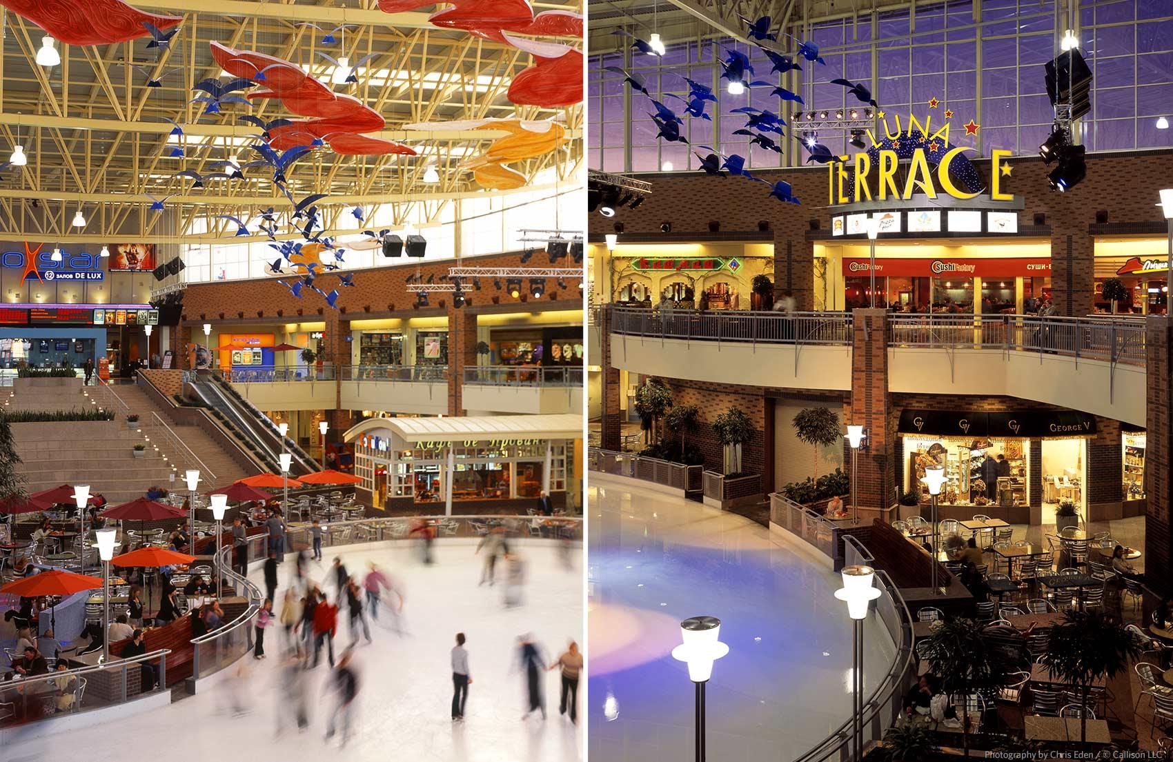 Mega Khimki, Moscow - Active interior mall