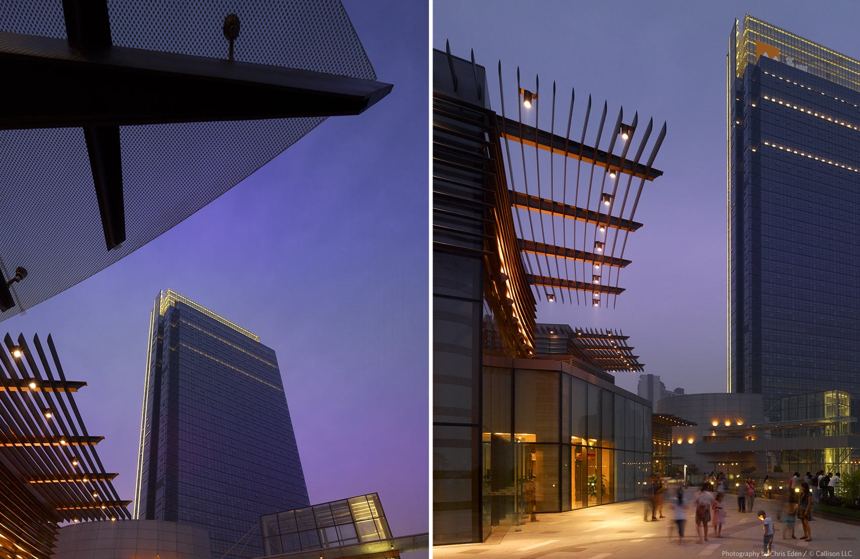 Mix C, Chengdu, China - High Rise tower, a key element