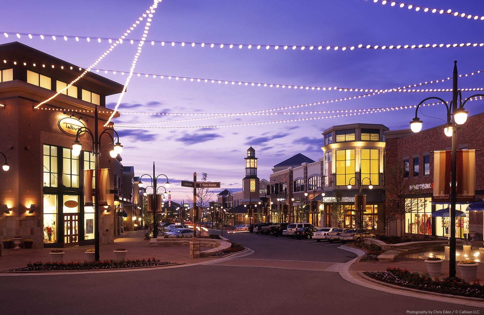 Southlands Center - Exterior street view