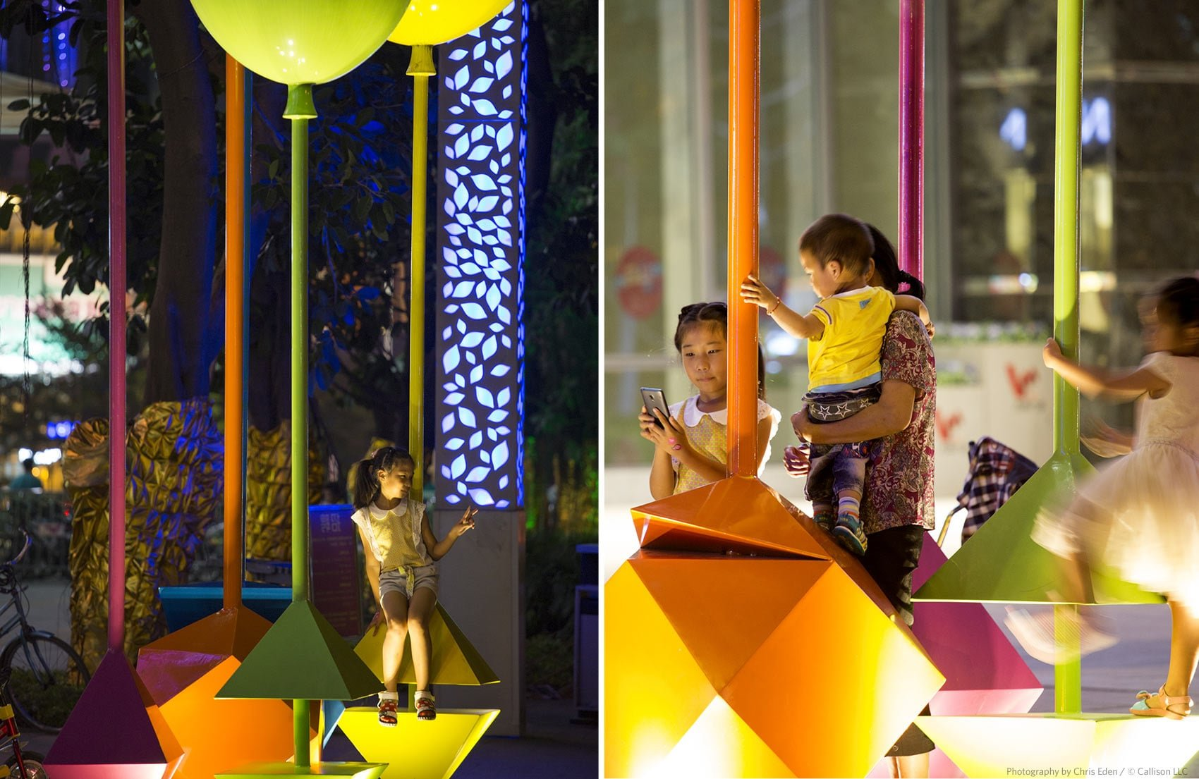 Vanke - Shen Zen, China - Interaction with design