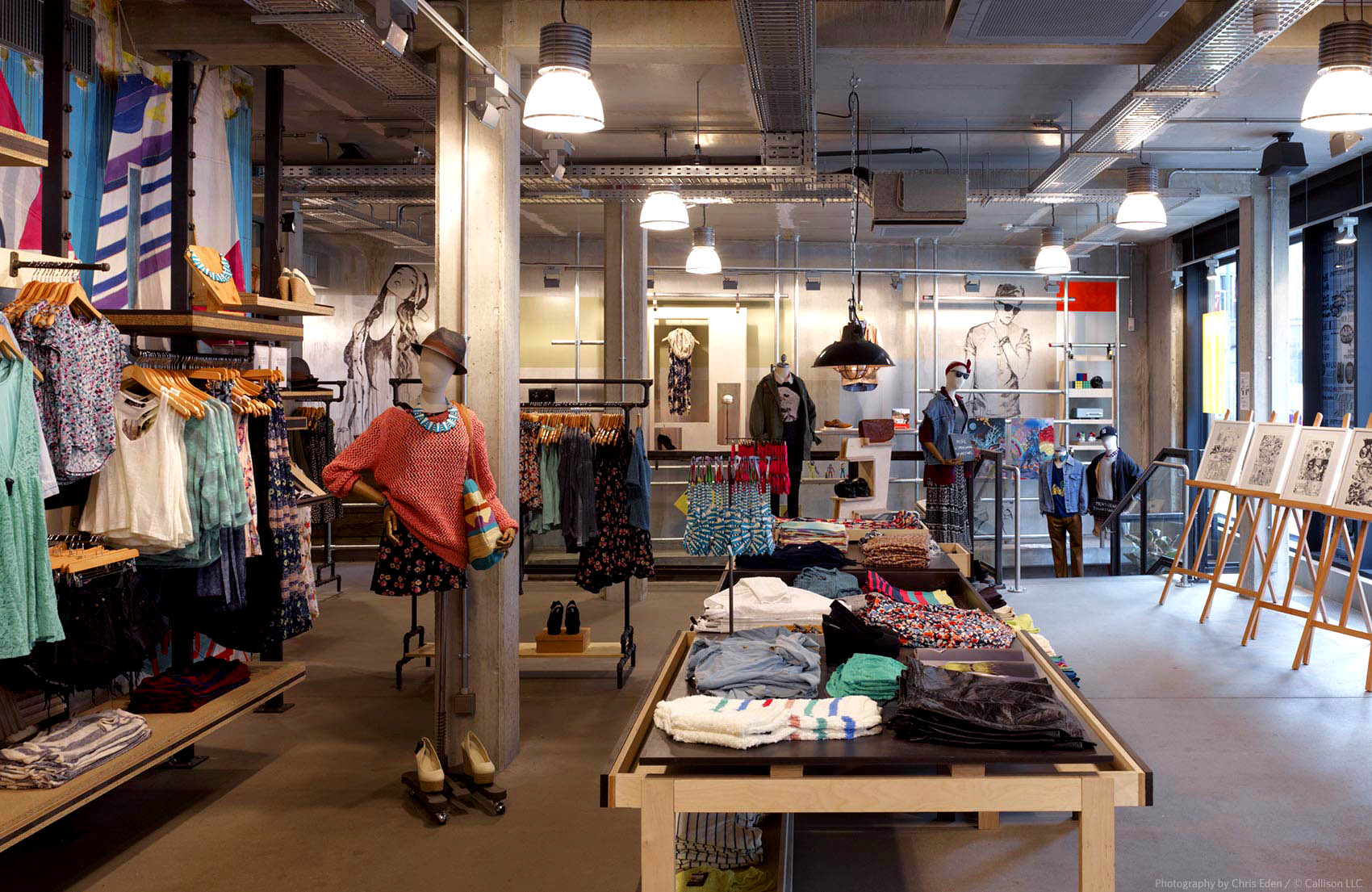 Urban Outfitters, Berlin - Mitte - Interior