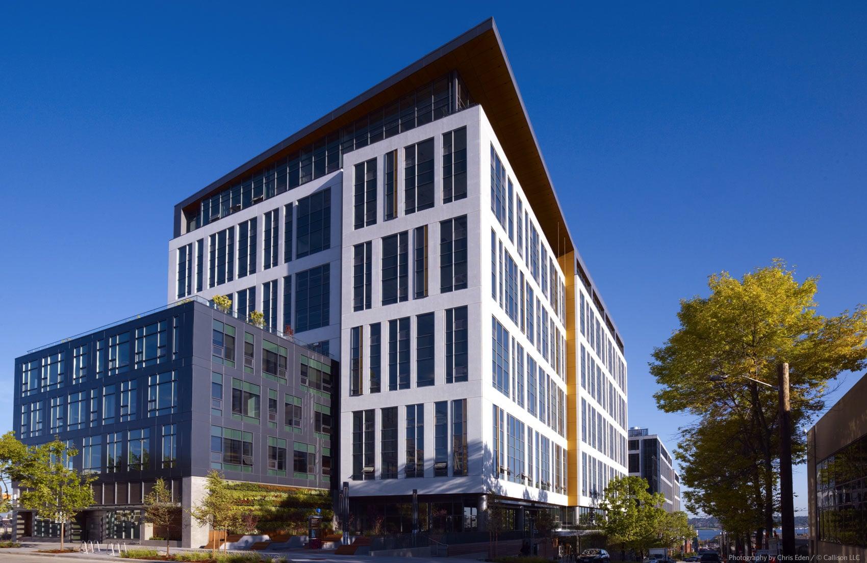 Amazon HQ - Exterior overall