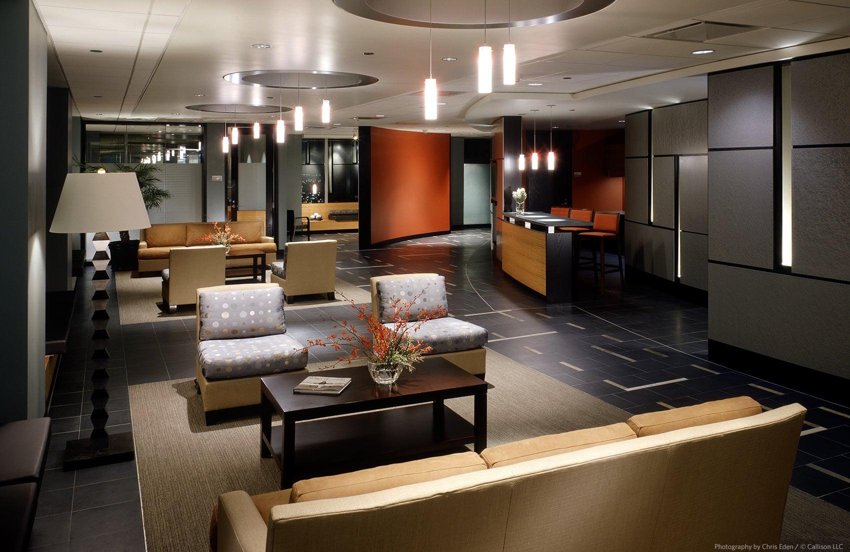 Boeing HQ - Main Lobby interior