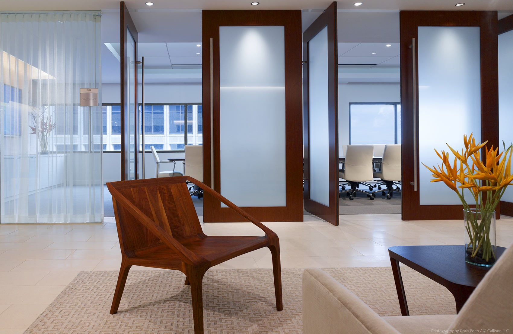 Carlsmith Ball Law Offices - Interior lobby and conference rooms