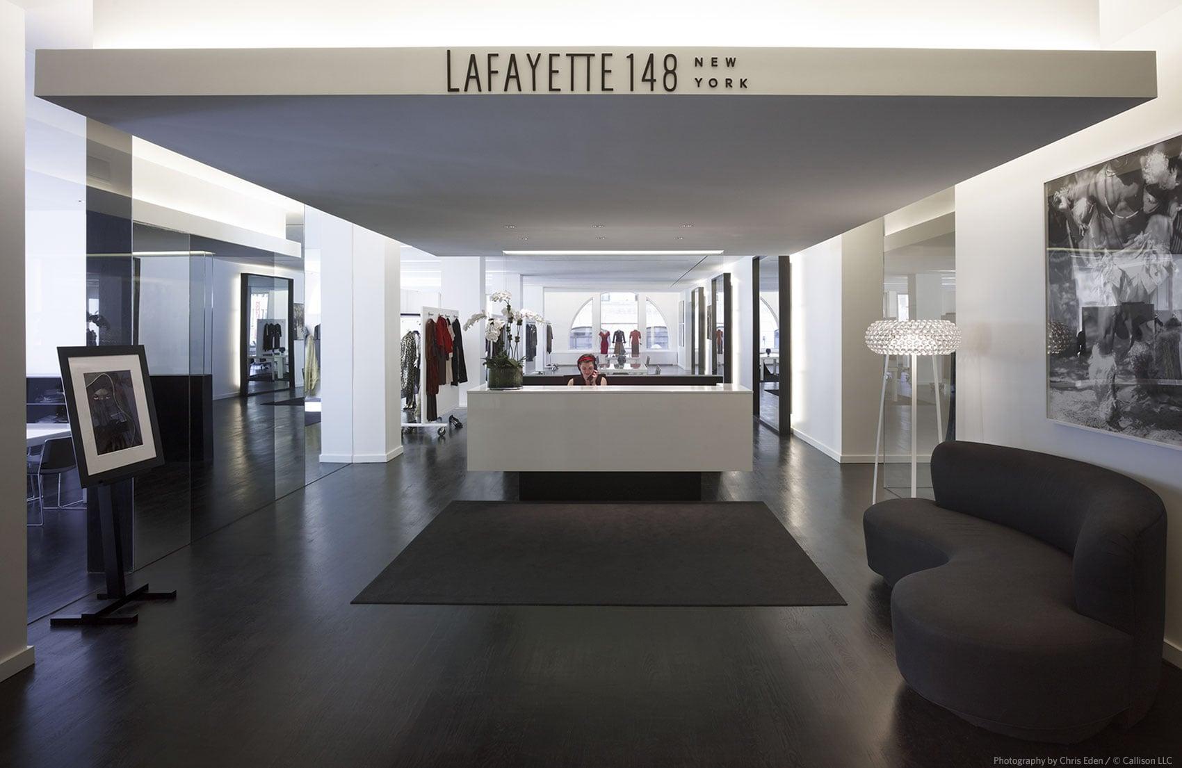 Lafayette148 Showroom - Reception interior