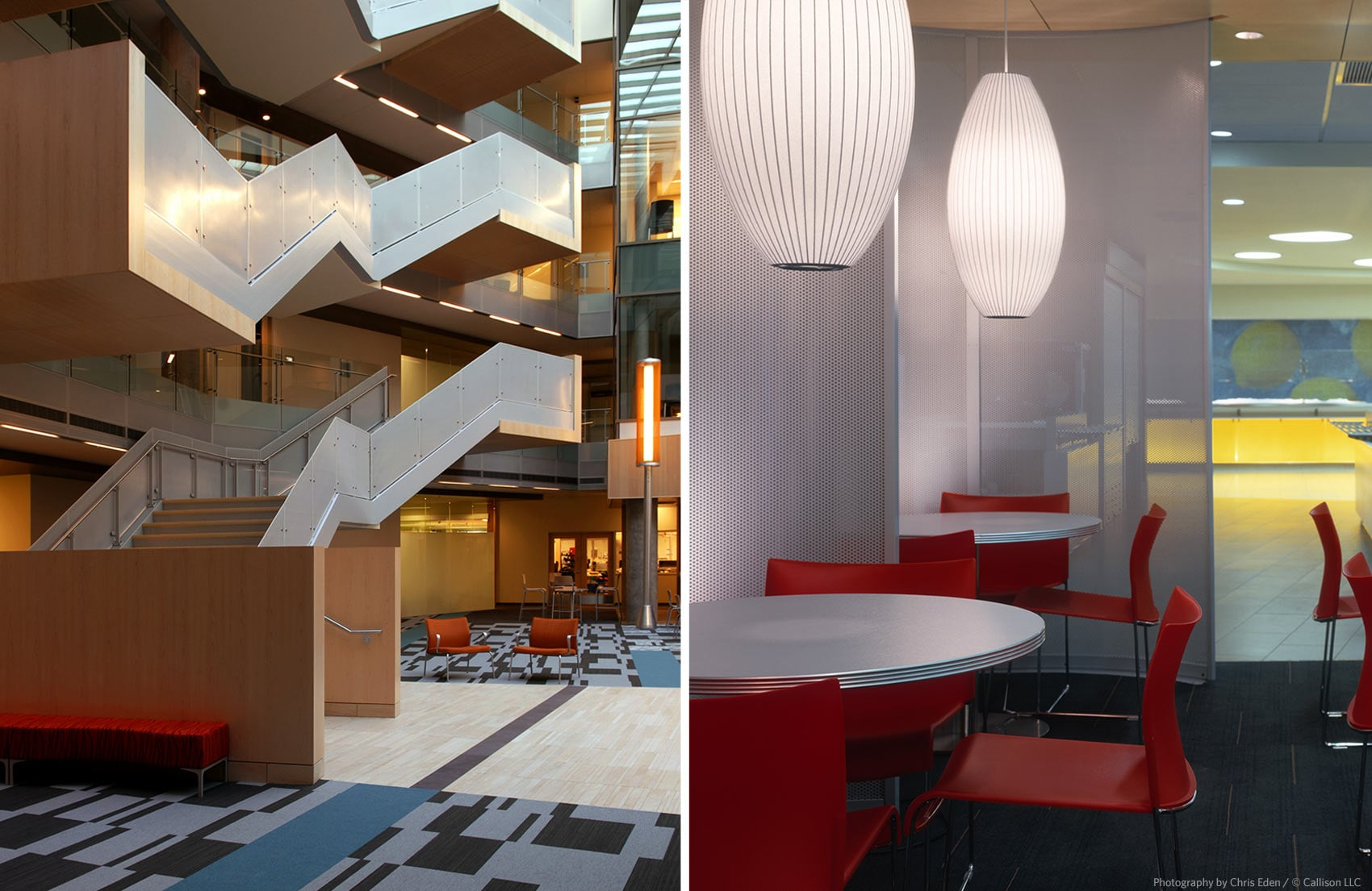 Software Company HQ - Lobby and office interior