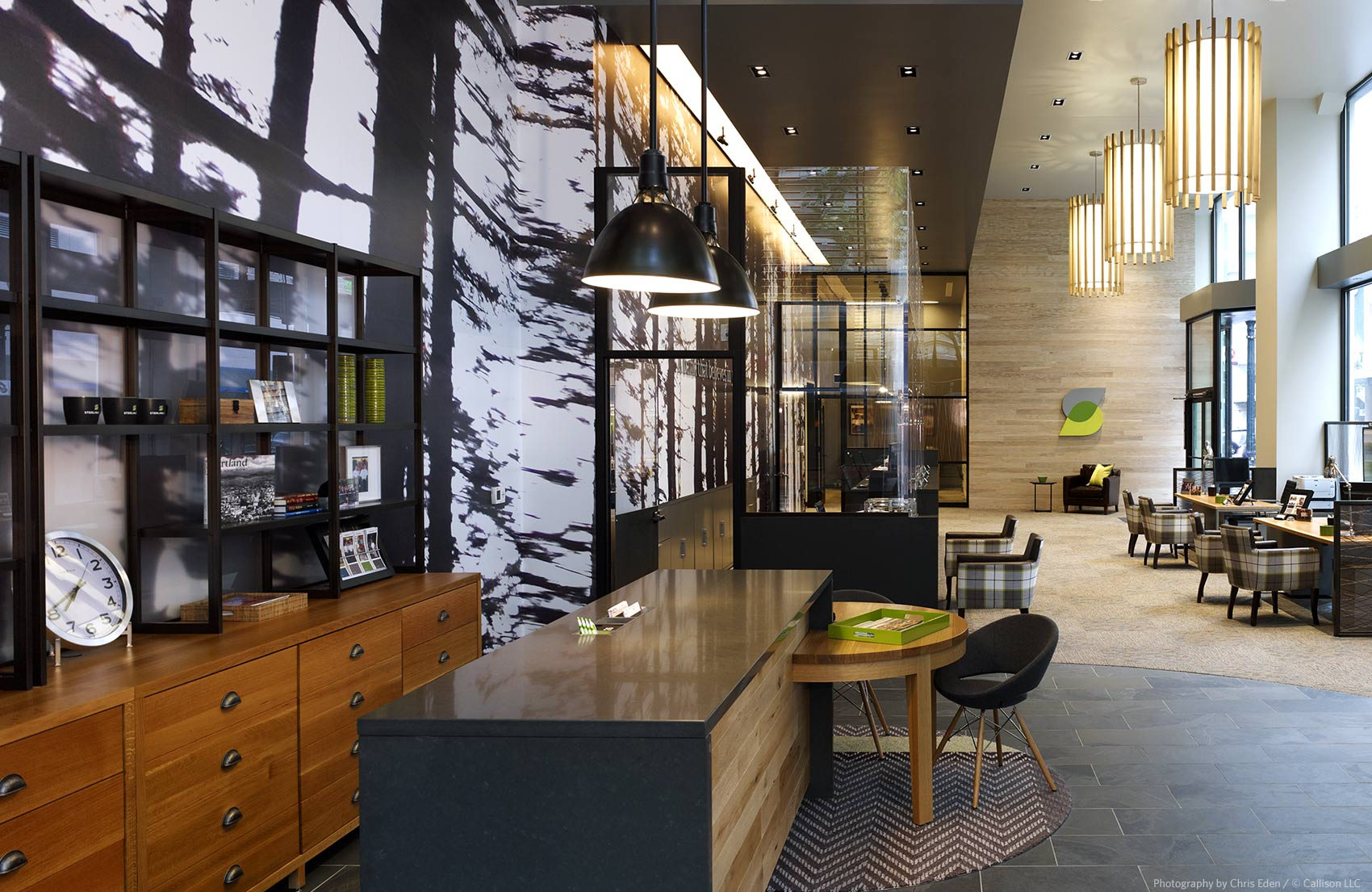 Sterling Bank - Interior overall